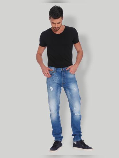 Blue Erik Anti Fit Jeans
