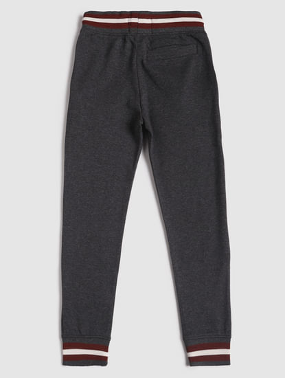 Junior Dark Grey Drawstring Sweatpants