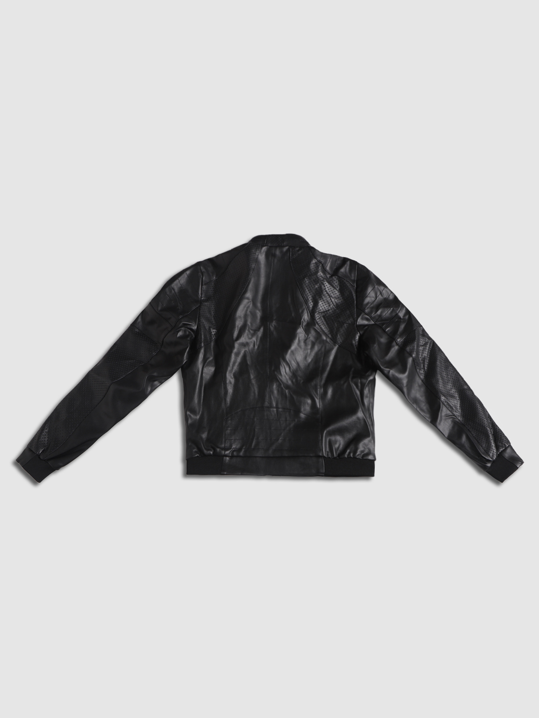 Junior Black Zip Up Jacket