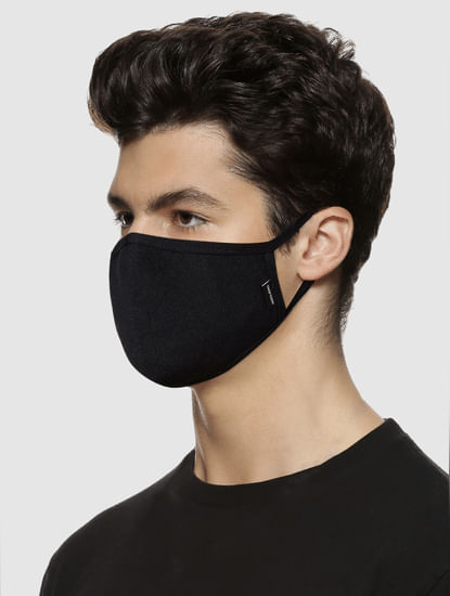 Pack of 3 Black 3PLY Mask