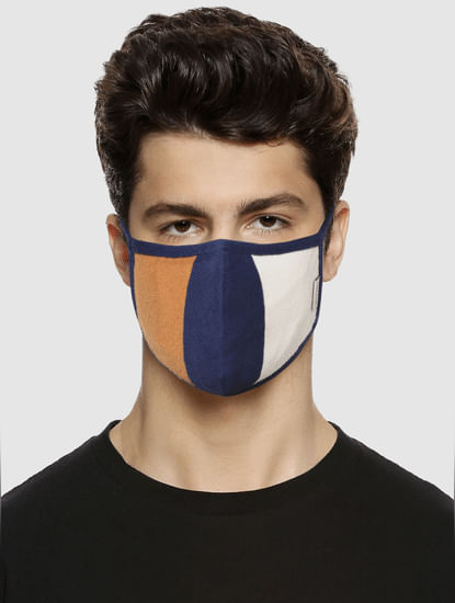 Pack of 3 Colourblocked 3PLY Mask