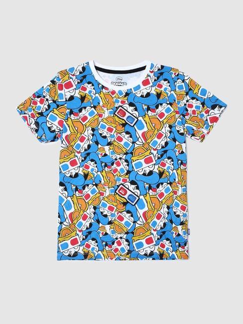 Boys X Donald Duck White Donald Duck Print T-shirt