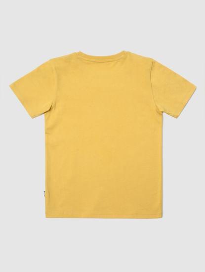 Boys X Donald Duck Mustard Donald Duck Print T-shirt