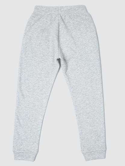 Junior Grey Mid Rise Drawstring Sweatpants