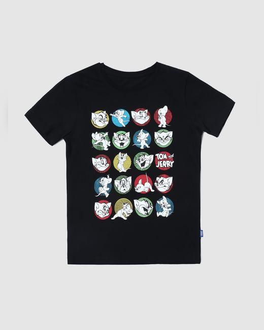 Boys X Tom & Jerry Printed Crew Neck T-shirt