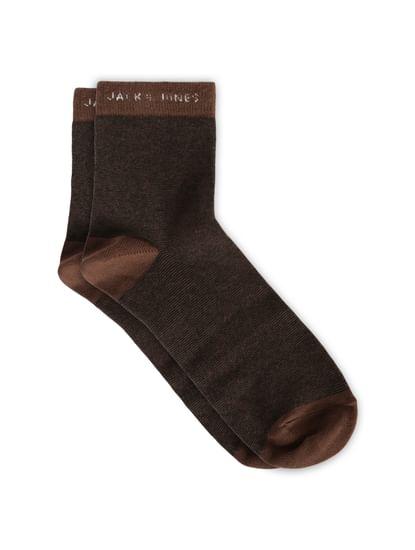 Pack of 5 Striped Mid Calf Length Socks