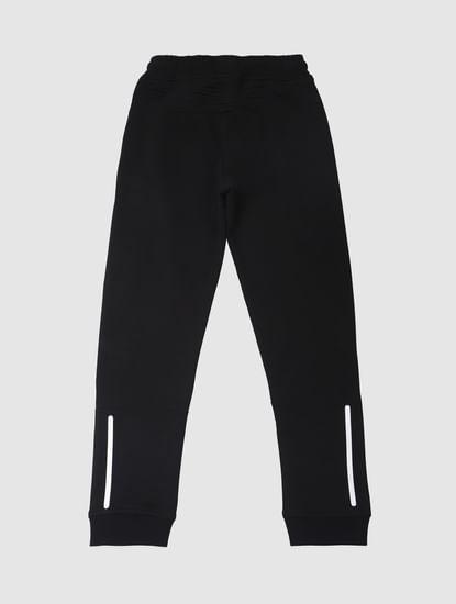 Boys Black Sweatpants