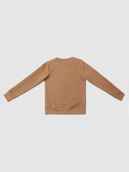 Boys Brown Sweatshirt
