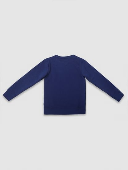 Boys Blue Sweatshirt
