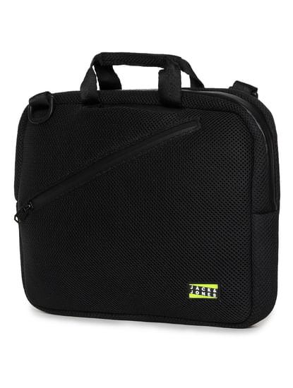 Black Adjustable Strap Laptop Bag