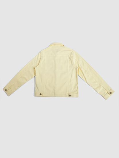 Junior Yellow Denim Jacket