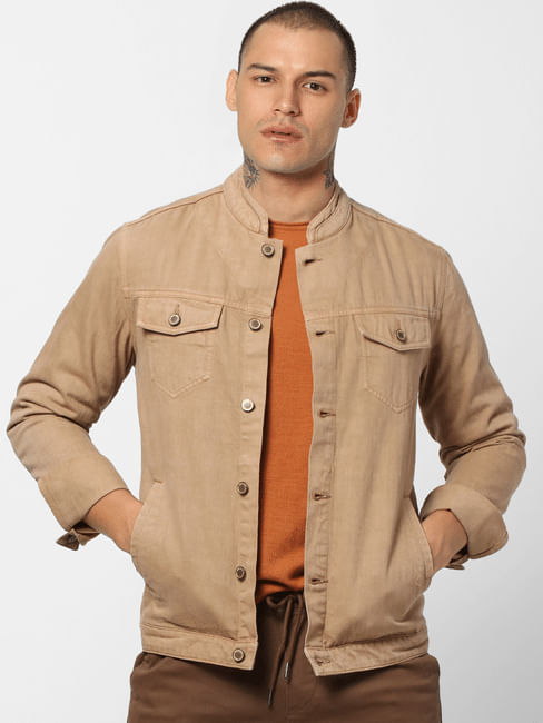 Brown Casual Jacket