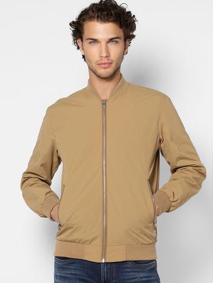 Brown Bomber Jacket