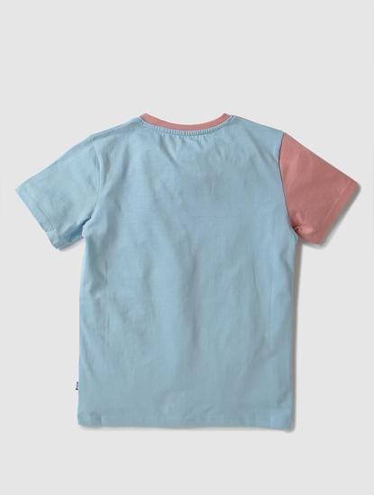 Junior X Tom & Jerry Colourblocked Crew Neck T-shirt