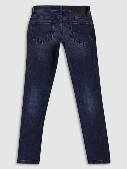 Junior Blue Low Rise Liam Skinny Fit Jeans
