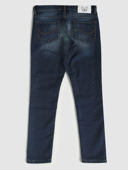 Boys Blue Low Rise Ben Skinny Fit Jeans
