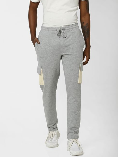 Grey Drawstring Sweatpants