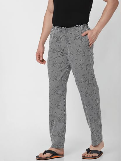Grey Striped Pyjama