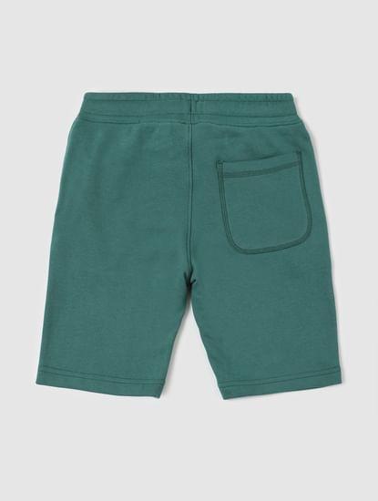 BOYS Green Sweatshorts