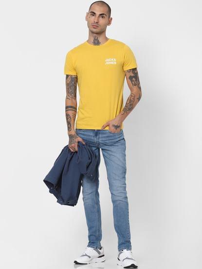 Light Blue Low Rise Ben Skinny Jeans
