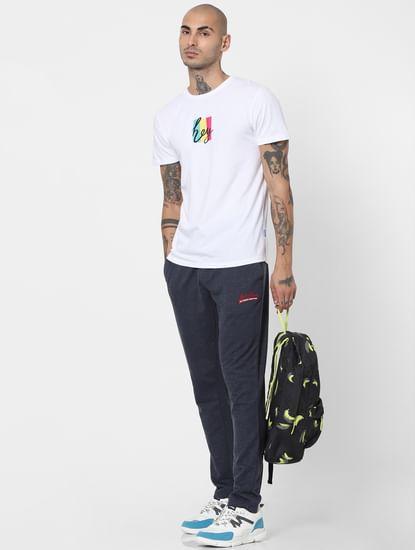 Grey Mid Rise Sweatpants
