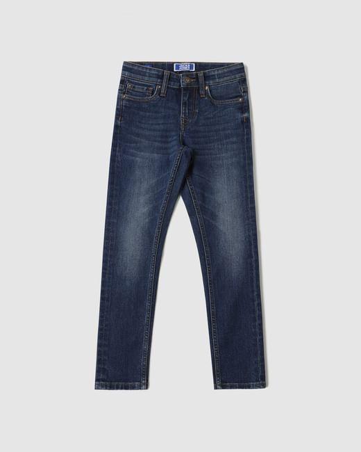 Boys Blue Low Rise Glenn Slim Fit Jeans