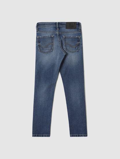 Boys Blue Low Rise Liam Skinny Fit Jeans