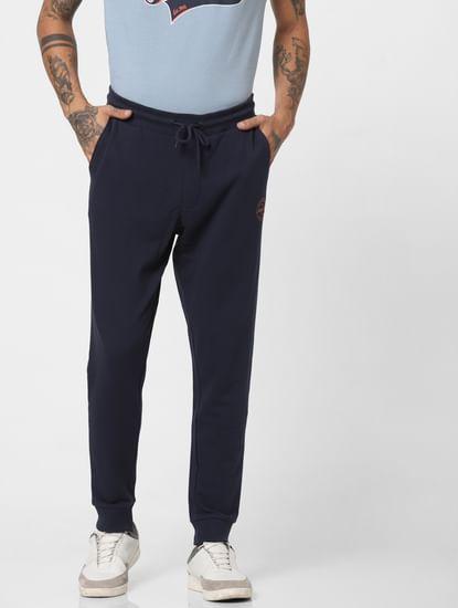 Navy Blue Drawstring Sweatpants