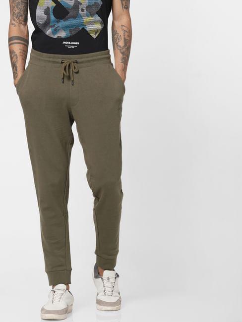 Green Drawstring Sweatpants