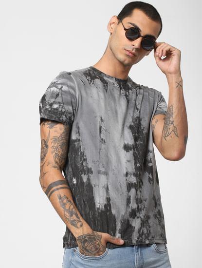 Black Tie & Dye Crew Neck T-shirt