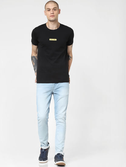 Light Blue Low Rise Liam Skinny Fit Jeans