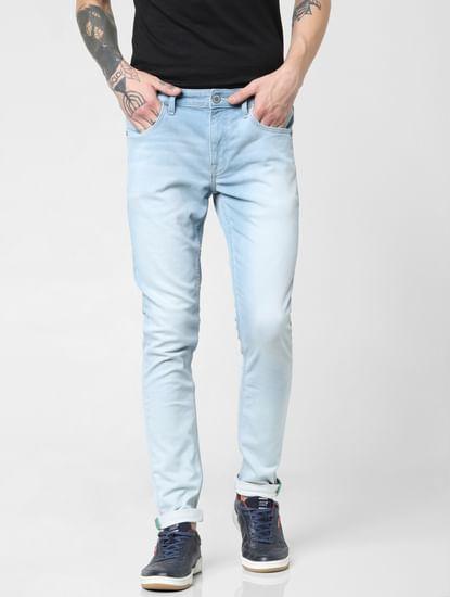 Light Blue Low Rise Liam Skinny Fit Jeans