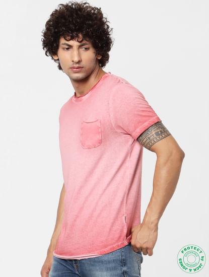 Blue Washed Crew Neck T-shirt