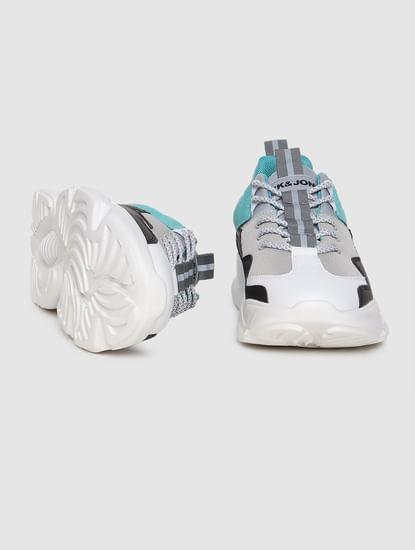 Multi-coloured Colourblocked Sneakers