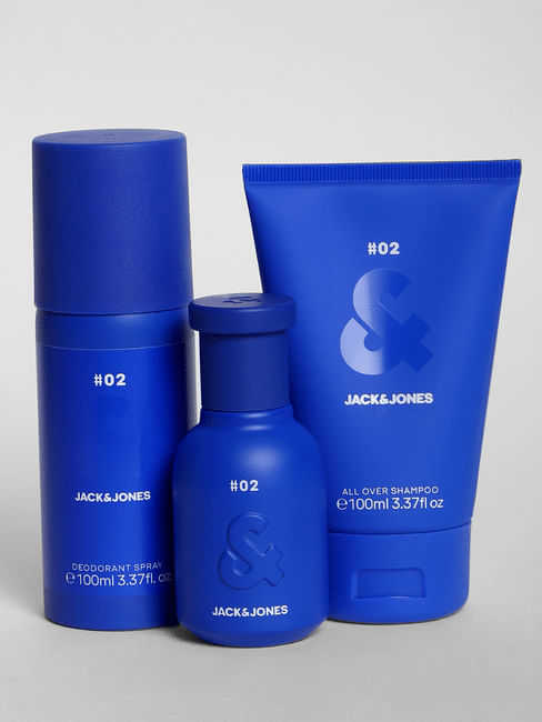 Blue Fragrance Gift Set