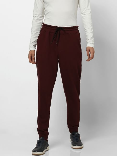 Red Mid Rise Sweatpants