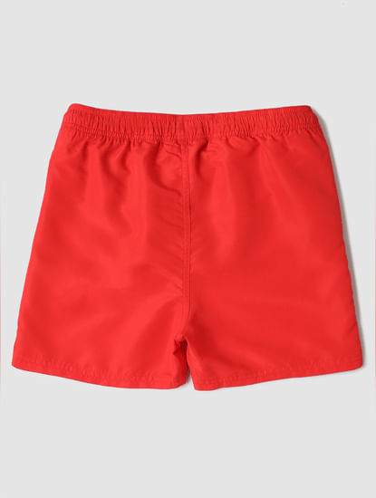 Boys Red Swimshorts