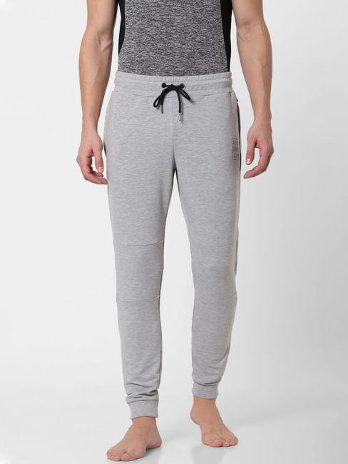 Grey Zipped Pocket Trackpants