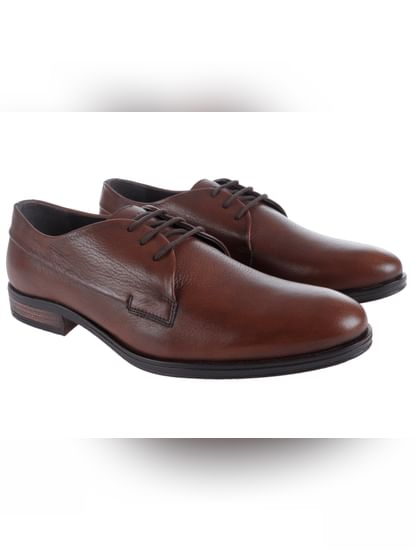 Brown Derby Shoes