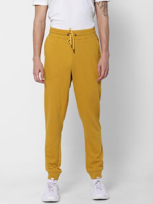 Yellow Mid Rise Sweatpants