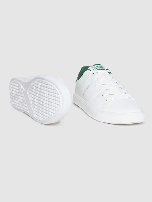 White PU Sneakers