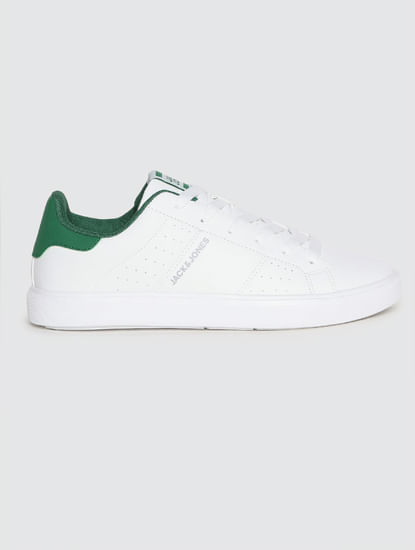 White PU Sneakers