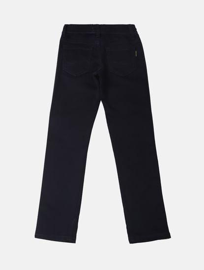 Boys Blue Low Rise Glenn Tape Detail Jeans