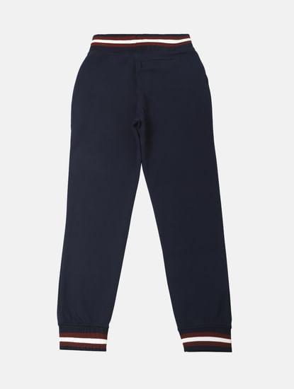 Boys Blue Mid Rise Sweatpants