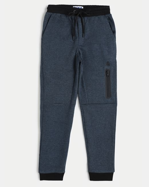Junior Blue Mid Rise Sweatpants