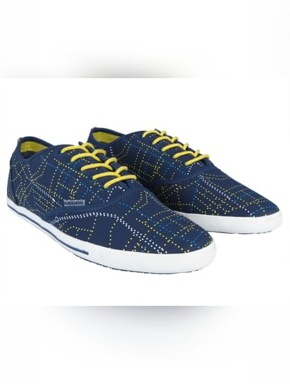 Blue Dotted Sneakers