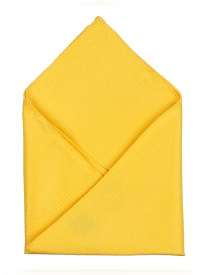 Yellow Pocket Square