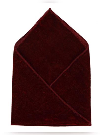 Deep Red Pocket Square