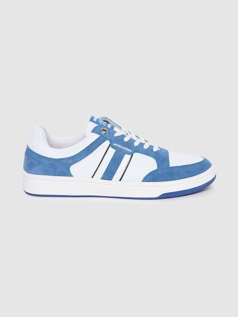 Blue Colourblocked Sneakers