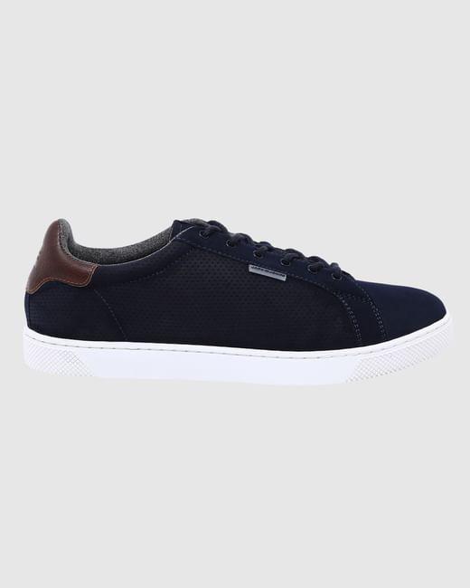 Blue Pu Sneakers
